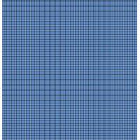 Простыня бязь (125г) КЛЕТКА СИНЯЯ   (1,5сп)