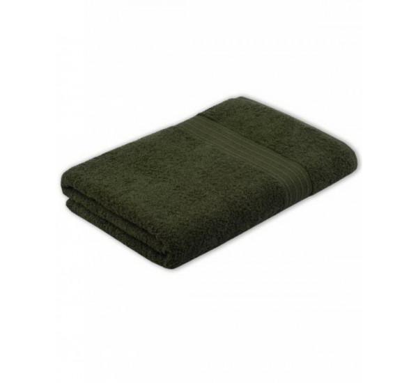 Полотенце махровое ТЕМНО-ОЛИВКОВЫЙ   (40х70)