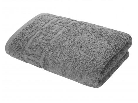 Полотенце махровое ТЕМНО-СЕРОЕ