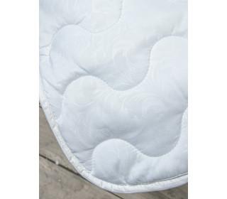 Одеяло из холлофайбера белое   (1,5сп)   Летнее