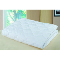 Одеяло из холлофайбера белое   (Евро-1)   Летнее