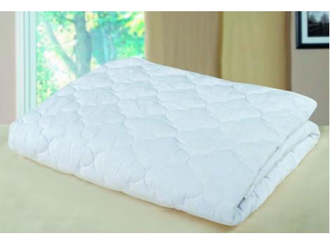 Одеяло из холлофайбера белое летнее