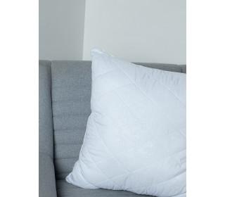 Подушка из лебяжьего пуха   (70х70) чехол-микрофибра