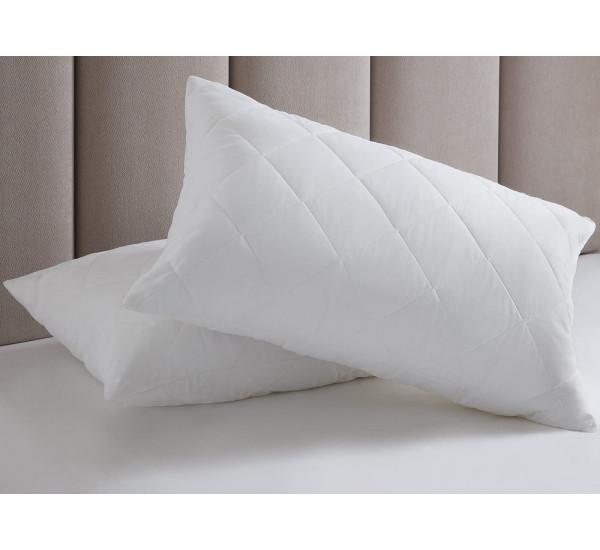 Подушка из лебяжьего пуха   (40х60) чехол-микрофибра