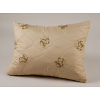 Подушка из верблюжьей шерсти   (70х70)