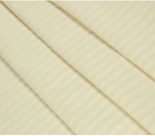 Наволочка страйп-сатин с ушками ШАМПАНЬ   (50х70)