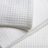 Полотенце вафельное белое Эконом 150г/м2   (40х80)