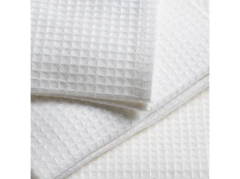 Полотенце вафельное белое Эконом 150г